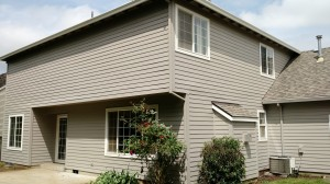 After new HardiePlank siding was installed
